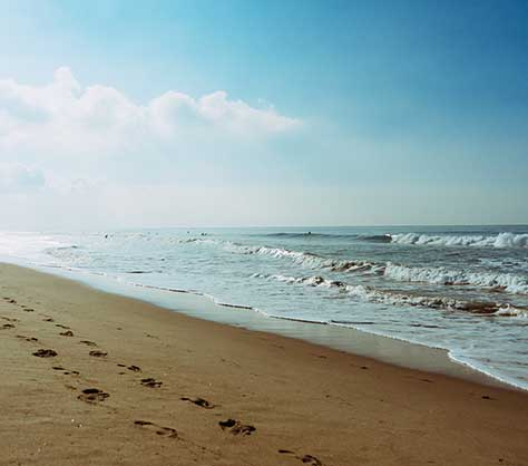 La mer et les plages